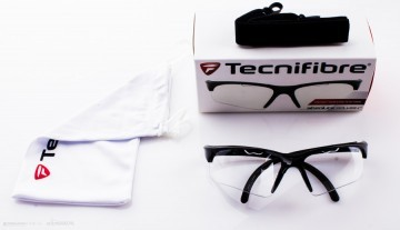 Tecnifibre Protection Glasses Czarne